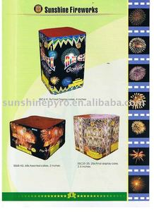 49s fan shape cake fireworks mines for christmas pyrotechnics show-catalogue 9