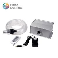 new product 10W 6 colors led fiber optic lighting kit for starry sky star effect ceiling