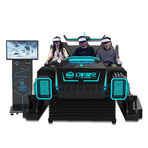 FuninVR Virtual Reality Simulator VR theme park 6 seats 9d vr cinema