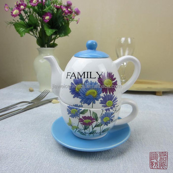 Wholesale Home Decor And Gifts Ceramics Tea For One Set