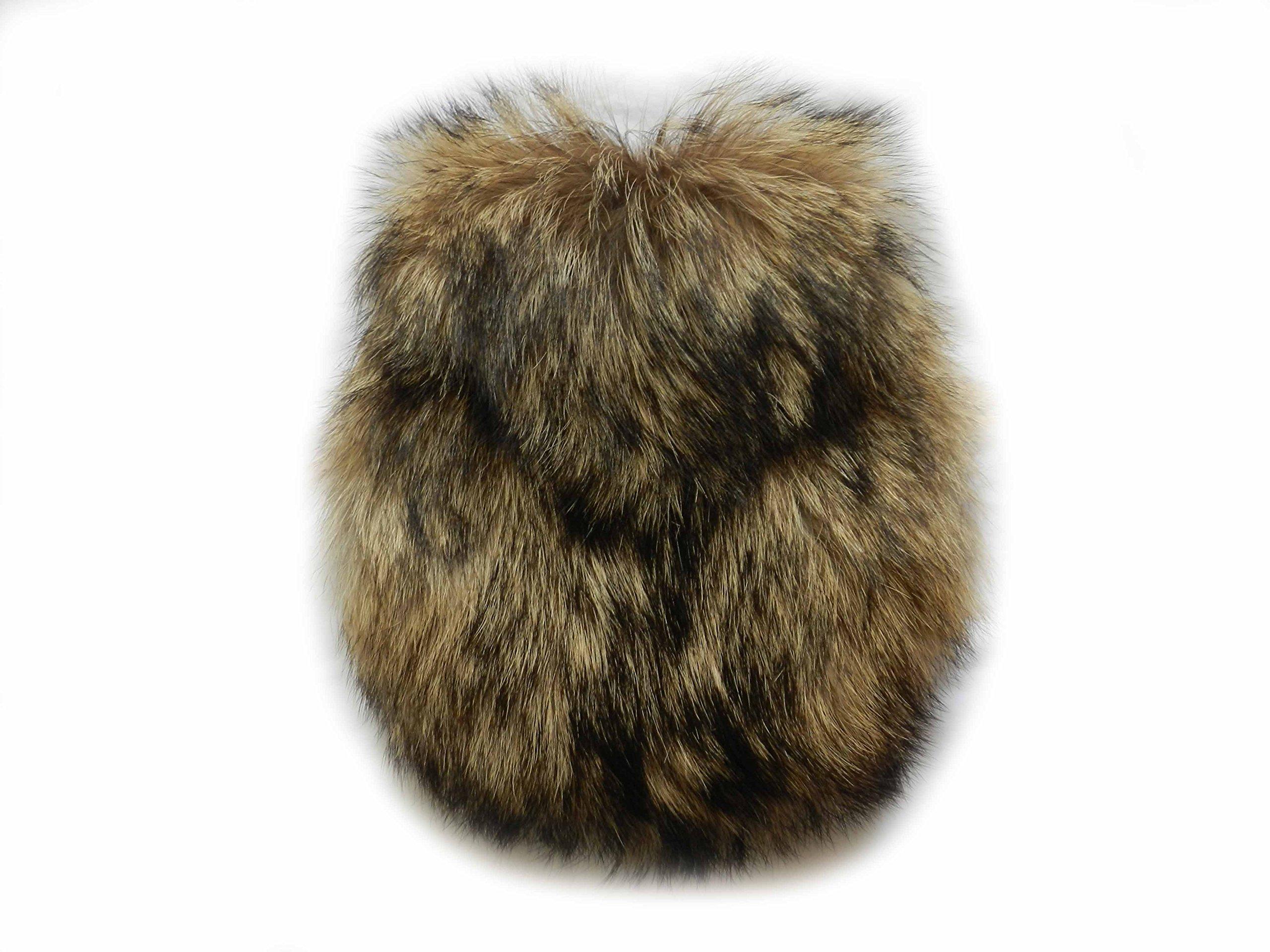 Scottish Kilt Coyote Fur Sporrans - Formal, Full Fur, Semi Formal