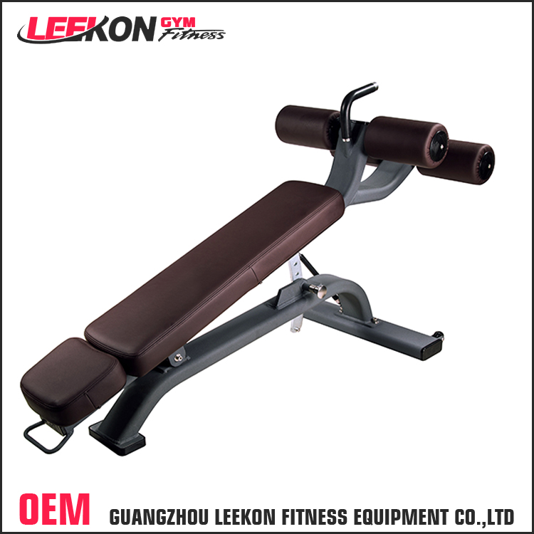 Leekon wholesale adjustable abdominal exercise decline bench