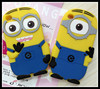 Novelty Despicable Me 2 silicone Minions case for iPod Touch