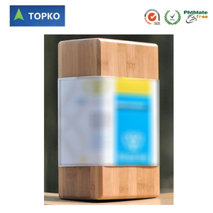 "TOPKO New Product Fitness High Quality 3""x6""x9"" Bamboo Yoga Block"