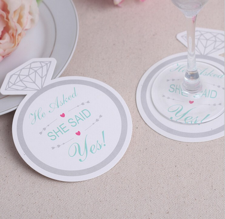 Custom Printed Promotional Drink Coasters