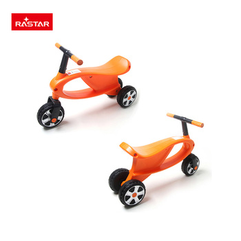RASTAR safe ABS plastic baby activity walker use foot push tricycle for baby