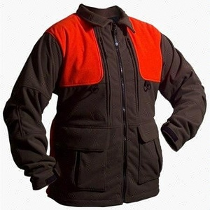 100% Polyester Polar Fleece Hunting Jacket Clothing For Men's Winter Warm Coat