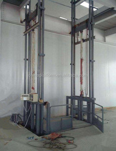 0.5t warehouse goods lift hydraulic warehouse cargo lift price