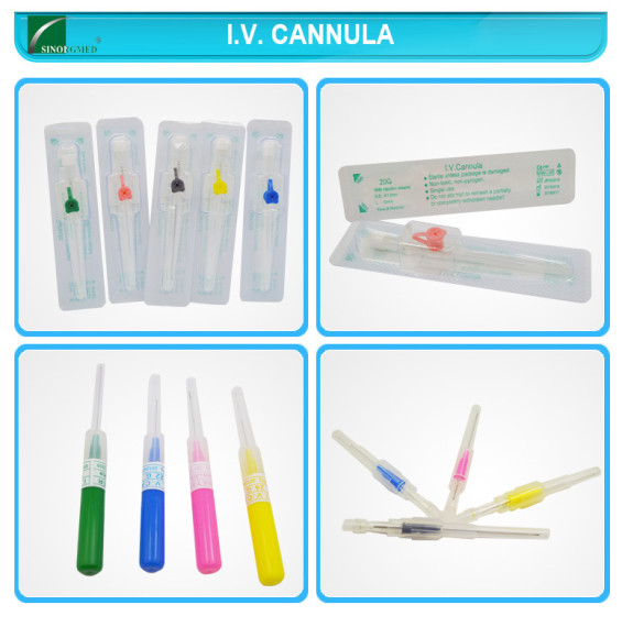 Disposable Pen Type IV Cannula of Medical Instrument