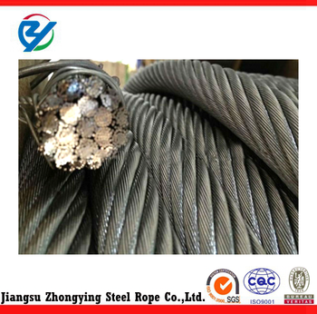 Hemp Core 8*19s Elevator Wire Rope Cables/ Steel Cable/steel Wire ...