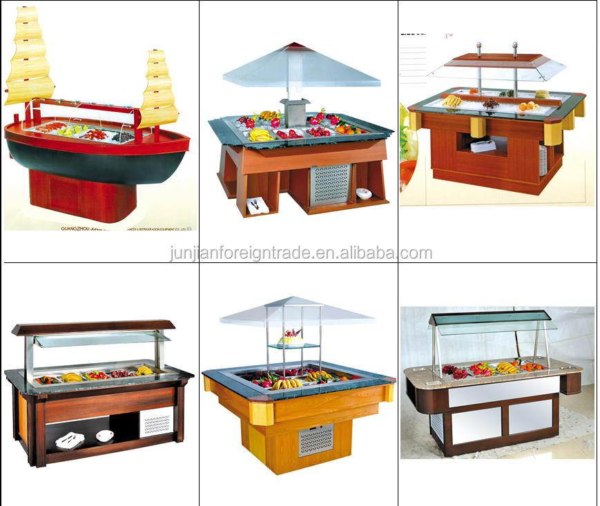 Charmant Table Top Commercial Refrigerated Salad Bar