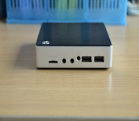 cheap atom mini linux computer thin client pc with Z3735f, power saving life of 5V is more intimate,more safety and quality.