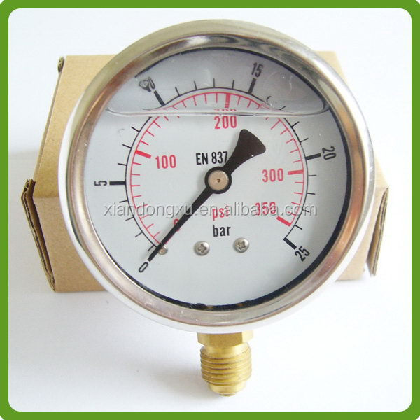 Contemporary special type pressure gauge cover