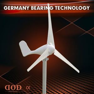 Reinforced glass fiber blades 800W windmill electric generating