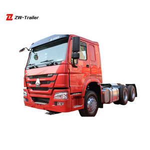 SINOTRUK HOWO Optional Emission Standard 6x4 New Tractor Truck