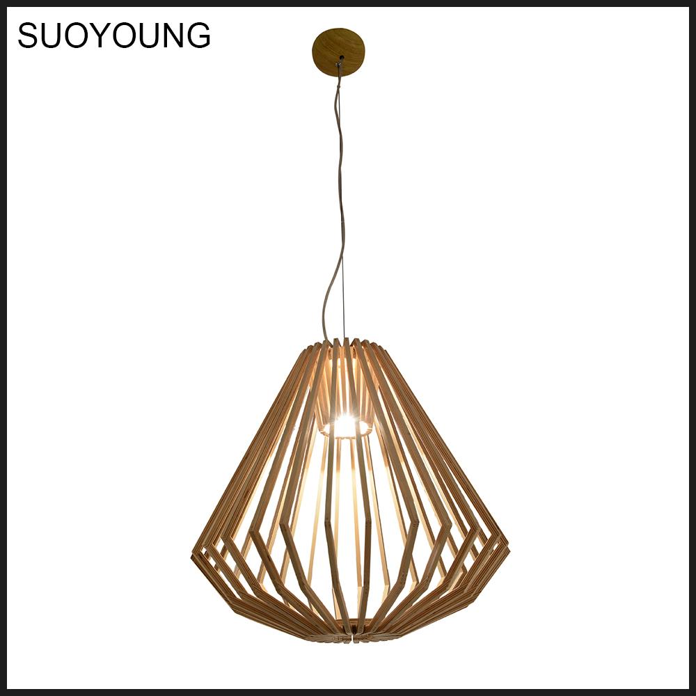 Modern Wooden Pendant Lamp/polywood Pendant Lights (md20034-1a ...