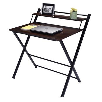 2層折りたたみとポータブル木製研究テーブルデザイン用キッズ buy 子供
