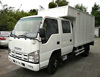 2017 New condition Double-row drive cab Isuzu Trucks