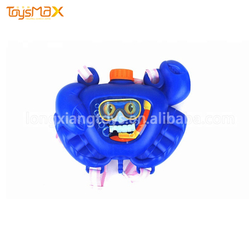 High Quality Plastic Kid's Toys Animal Backpack Water Gun