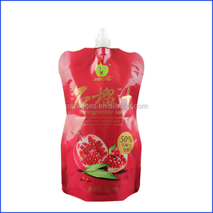 tomato ketchup sachet / ketchup doypack / ketchup spout pouches