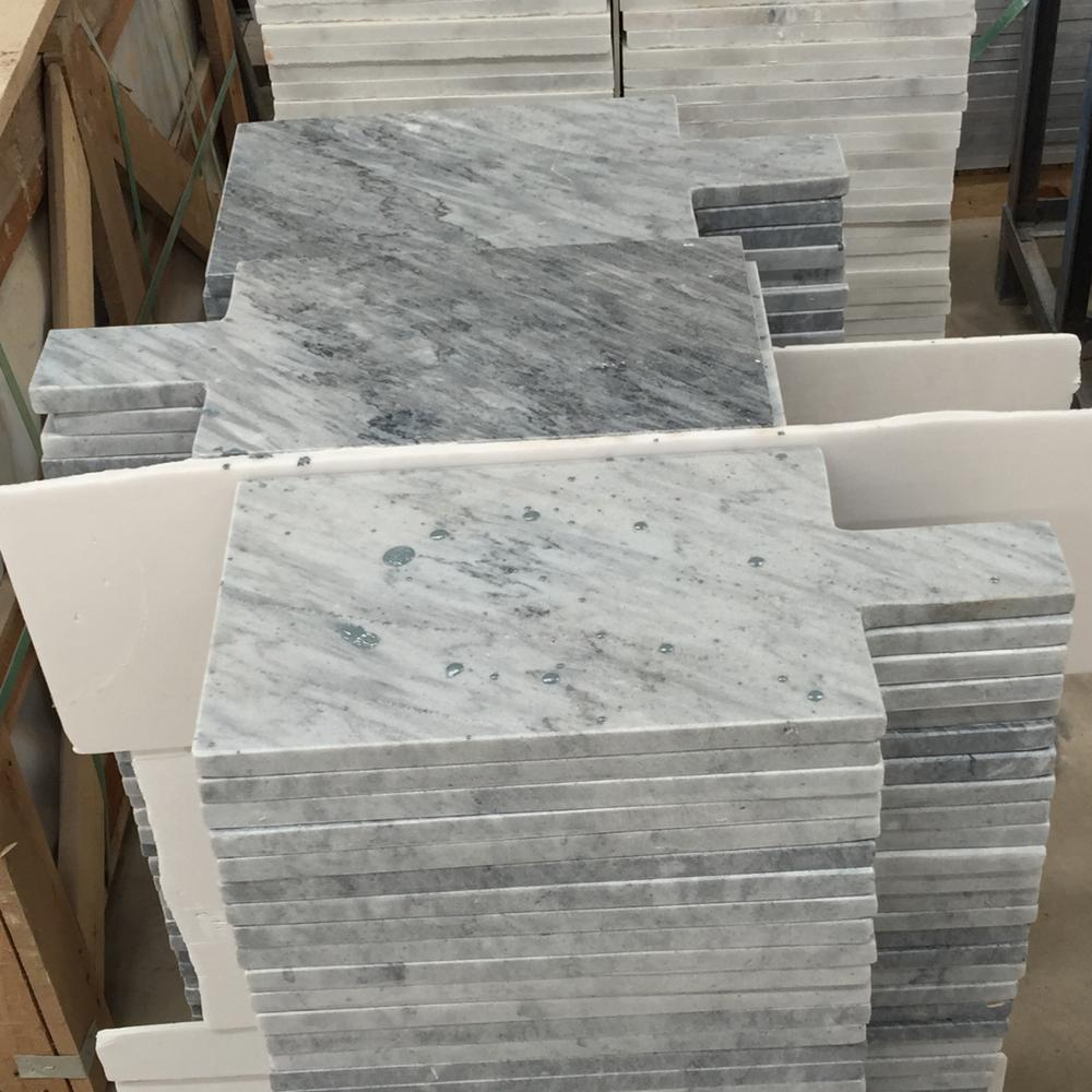 Customized Size cheap grey natural marble