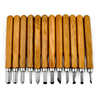 12 pc Wood Carving Tools Chisels Knife Set