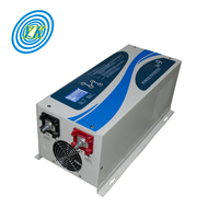 Factory Price 1kw 2kw 3kw 4kw 5kw Built-in Battery Charger Inverter DC 24V 48V to AC 220V 240V Pure Sine Wave Solar Power Invert