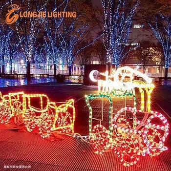 220v 110v 24v 3d train christmas rope light led motif light buy 3d 220v 110v 24v 3d train christmas rope light led motif light aloadofball Images
