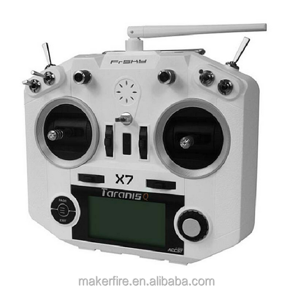 Makerfire FrSky QX7 Taranis Frsky 2.4GHz 16CH Transmitter ACCST White and Black