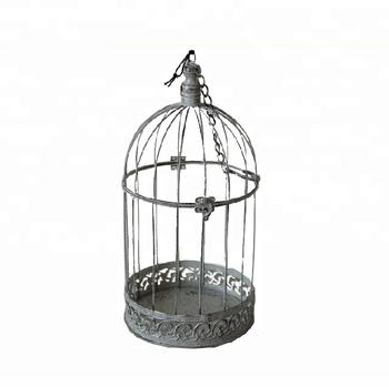 Charmant Accueil Décoration En Métal Noir Oiseau Lu0027élevage En Cage Volière ...