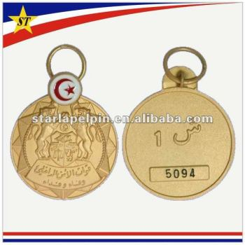 award medallion in badges round sports medals school custom item gold