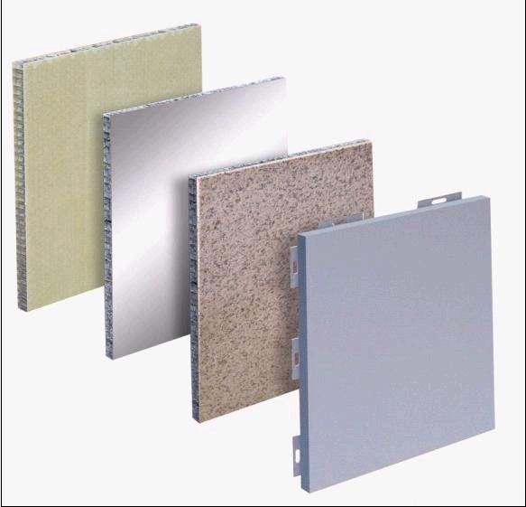 Panel de revestimiento de aluminio de nido de abeja de - Panel piedra precio ...