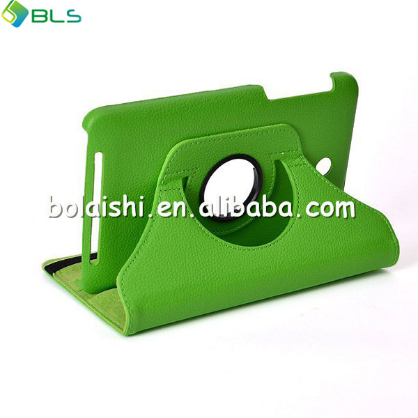 360 degree rotate for asus memo pad hd 7 leather case stand tablet cover
