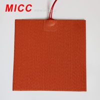 MICC customized heating gas silicone rubber heater all sizes and types for industrial use