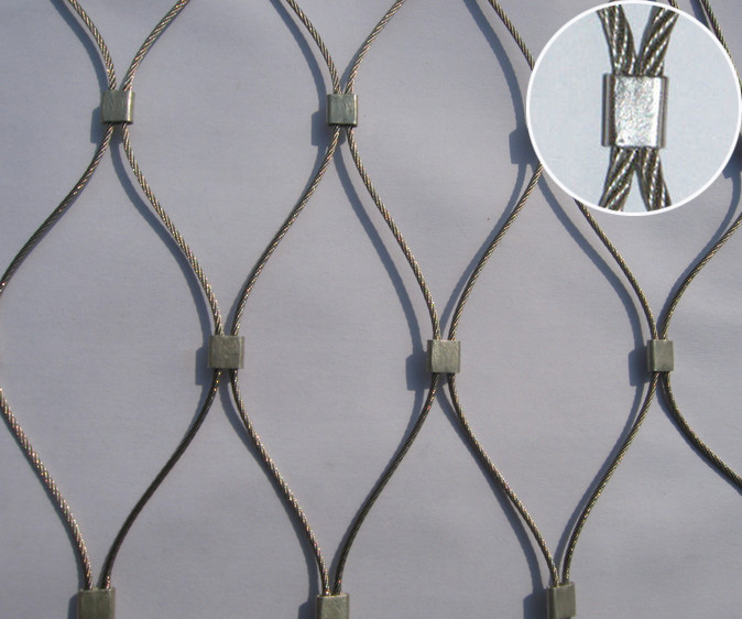 Stainless Steel Wire Rope Netting Mesh/wire Mesh Woven Cable Tray ...