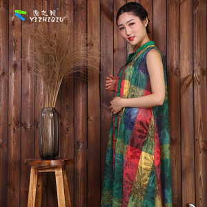 OEM Traditional Printed Pattern Chinese Cultural Dress