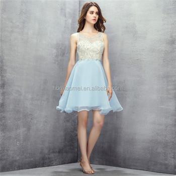 2017 Hot Selling Light Blue Color Bridesmaid Dresses Short Design Sequins Backless Wedding Bridesmaid Dresses For Girls Buy Wedding Bridesmaid