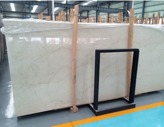 Polished Natural Moon Beige oyster pearl granite For exterior decoration