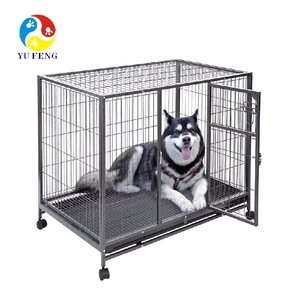 stainless steel dog cage(3 layers)