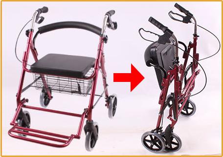 Optional Shopping Bag And Basket Pvc Soft Seat Shopping Walking ...