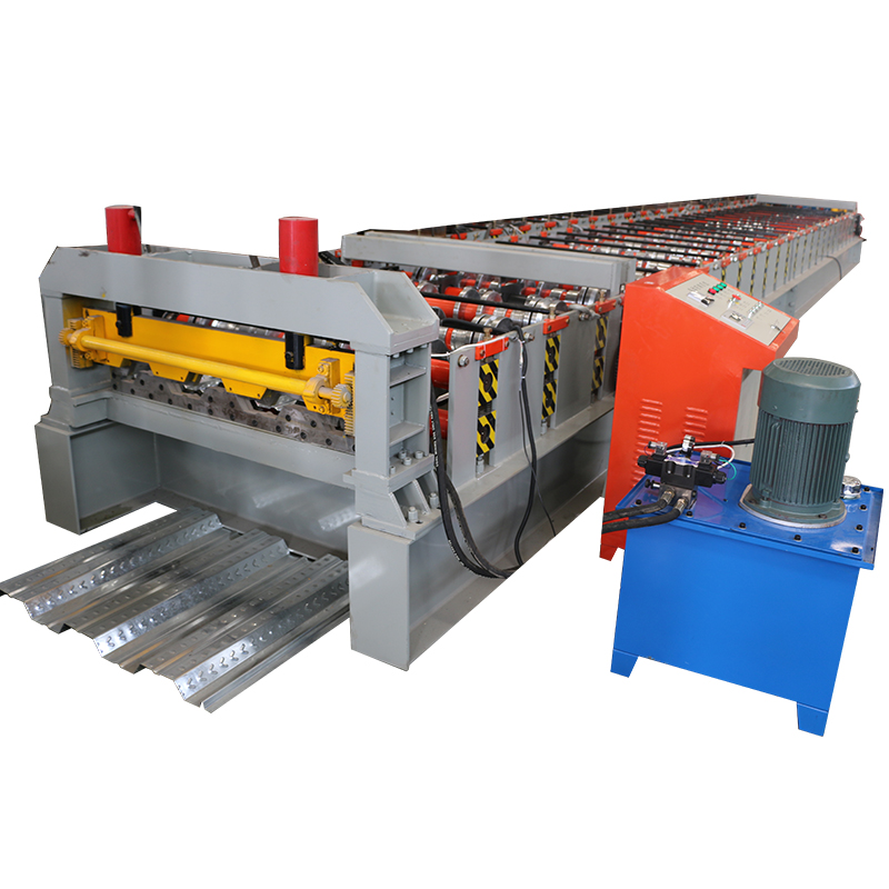 NIEUWE Product Metalen Decking Rolvormmachine Gegalvaniseerd Staal Dek Vloertegel Making Machine
