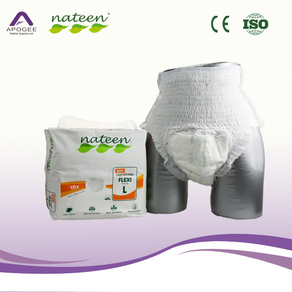 Sample Free Adult Diaper Pants Hospital Use for Incontience Old