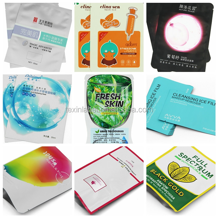 Global Glaze New Products Waterproof Bags For Facial Mask For ...