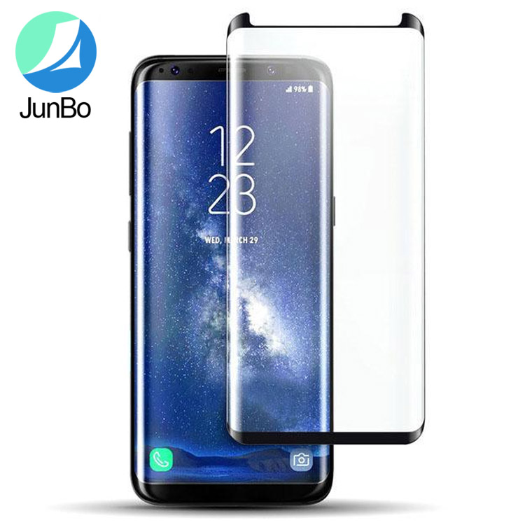 watch f94bb a5473 Curved Tempered Glass For Samsung Galaxy S9 /S9Plus Clear Case Friendly For  samsung S9 screen protector, View case friendly tempered glass, JUNBO ...