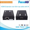 50m audio&video IR transmitter and receiver, with EDID DIP switch