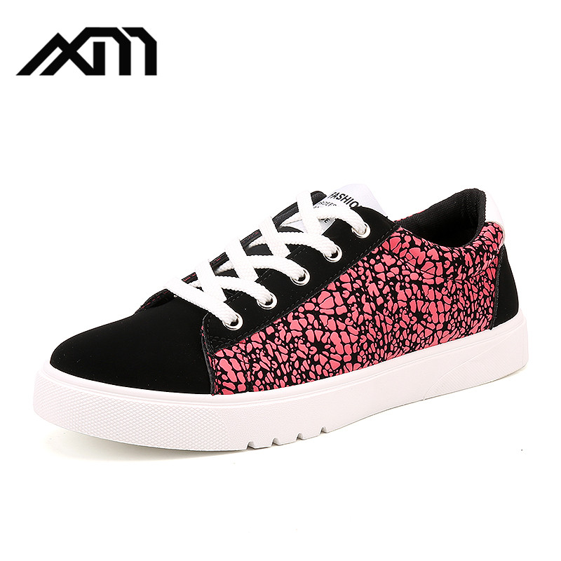 2017 factory 3 colors PU casual shoes for youth