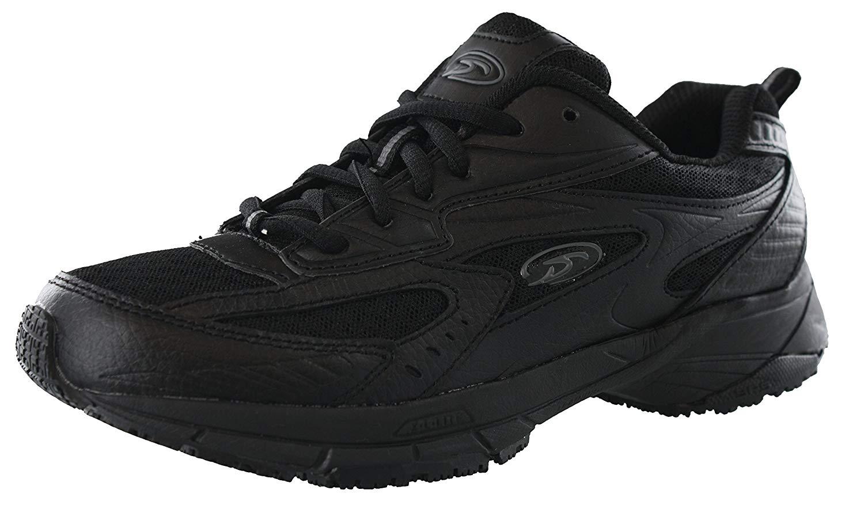 78340e29b1 Get Quotations · Dr. Scholl's Women's Peppy Black Wide Width Uniform Work  Shoes