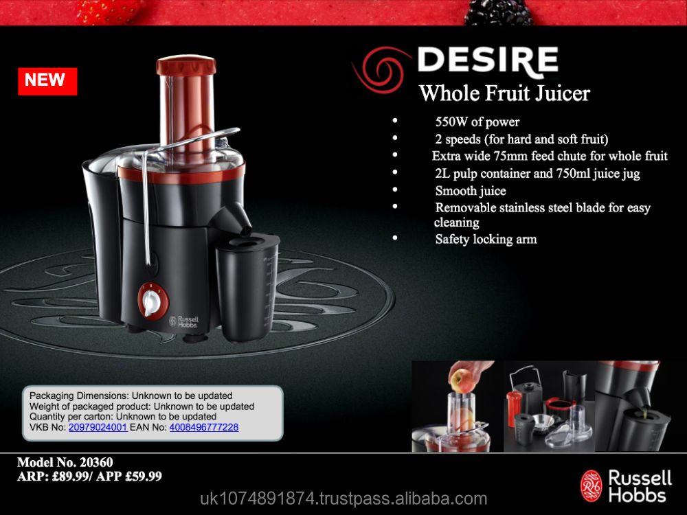 cooks professional 850w juicer reviews