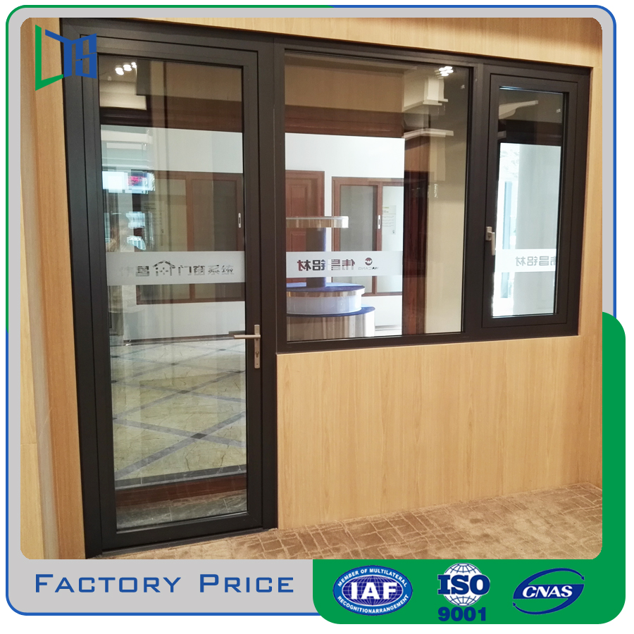 LYS quality aluminium double glazed windows and doors produce