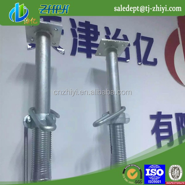 dipping paint metal support post adjustable screw jack stands telescopic support pole scaffolding price